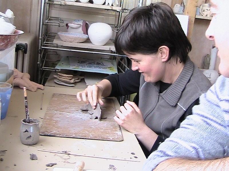 © SOPHIA - Découverte Poterie avec Brita en Septembre 2010