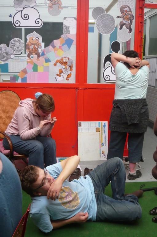 © SOPHIA - La Pause pendant les ateliers de Septembre 2010