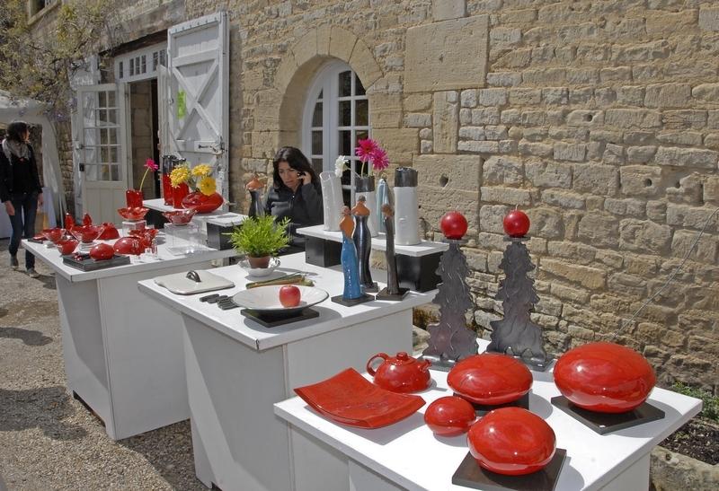 Le Marché de Potiers au Prieuré Saint Gabriel © Philippe PIERRE 2010