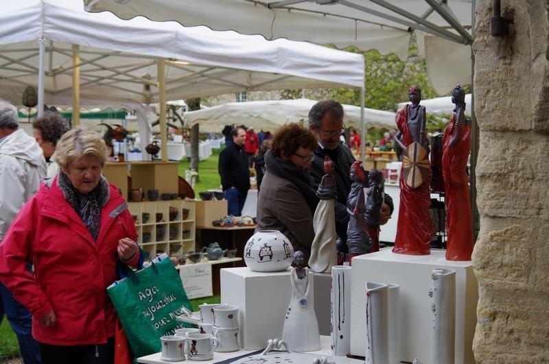 Très belle affluence à notre 16ème marché des potiers malgrè le temps mausade © 2015 Martine & Gérard MARCIA