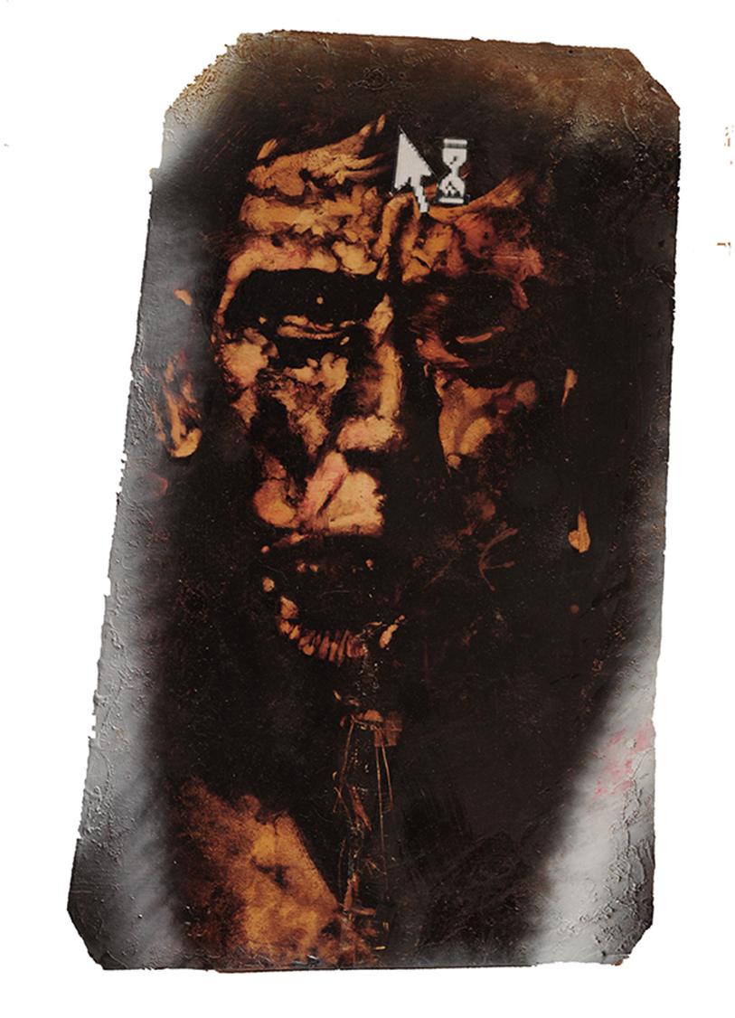 """""""Memento"""" (2009) olio su tela, cm ( 34 x 53,6)"""