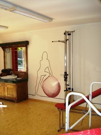 Fitness- und Therapieraum