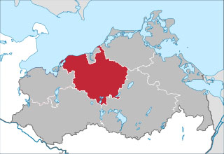 Der Landkreis Rostock in Mecklenburg Vorpommern