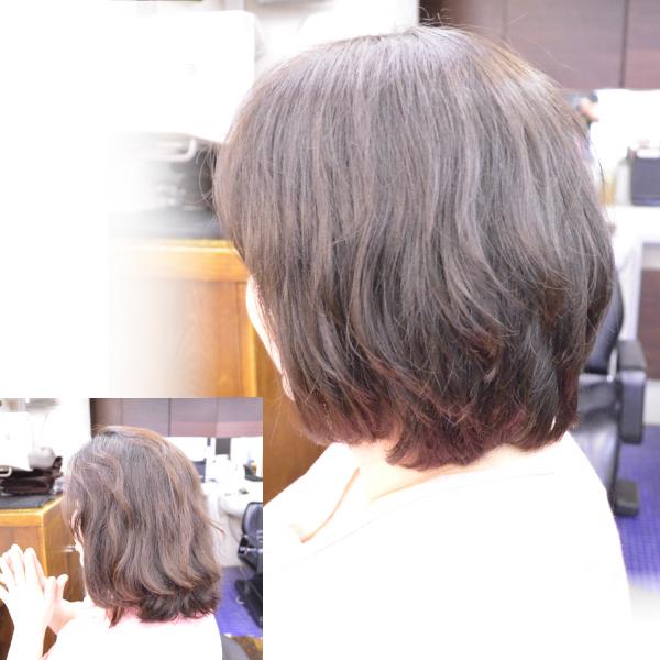 くせ毛を活かした髪型ミディアム