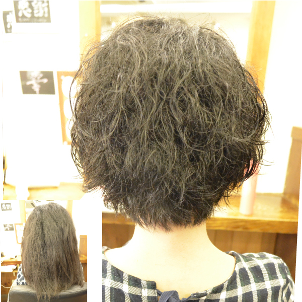 脱縮毛矯正でくせ毛を生かす髪型に-横浜 日吉 神奈川 美容院ユメユイ