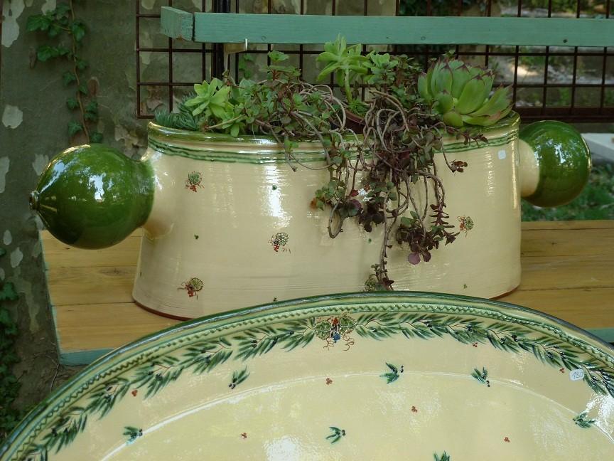 Les jardinières et grands plats