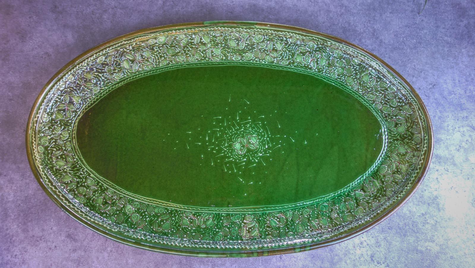 Les grands plats ovales