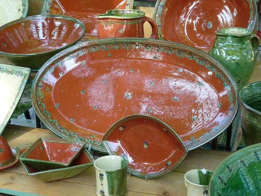 Les grands plats et les calissons