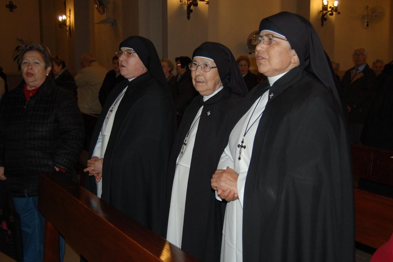 Superiora General, Madre Gloria Isabel Huérfano P y hnas fundadoras en España