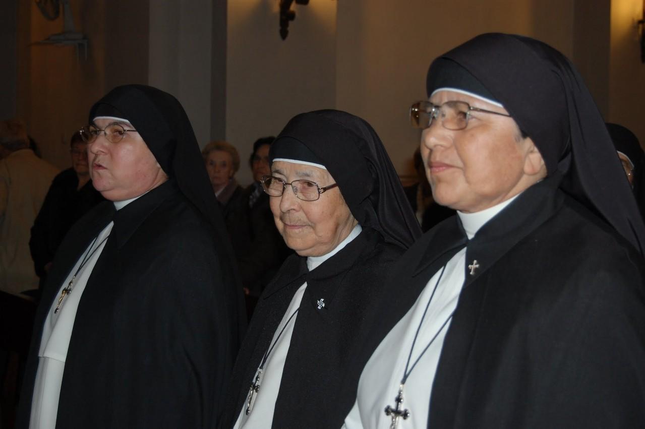 Madre Gloria, Hna Deifilia González y Hna Rosa Sandoval