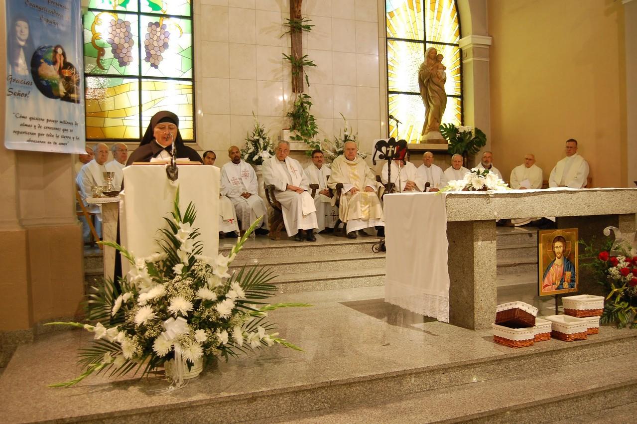 Palabras de ntra Superiora General, Madre Gloria Isabel Huérfano P