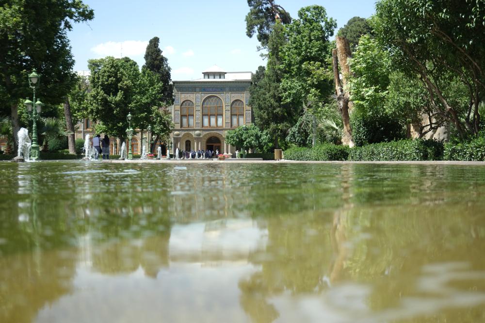 Der Golestan-Palast gehört zum Unesco-Weltkulturerbe