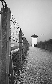 Francisco Santos - scanning own photo Dachau (1991)