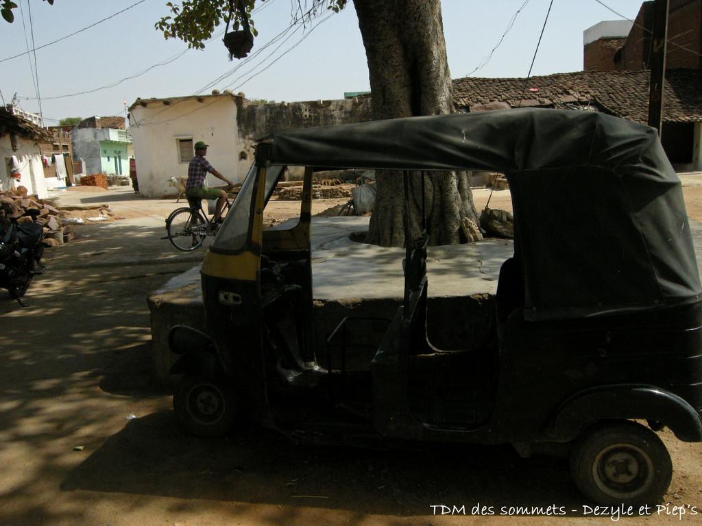 Vieille ville de Khajuraho