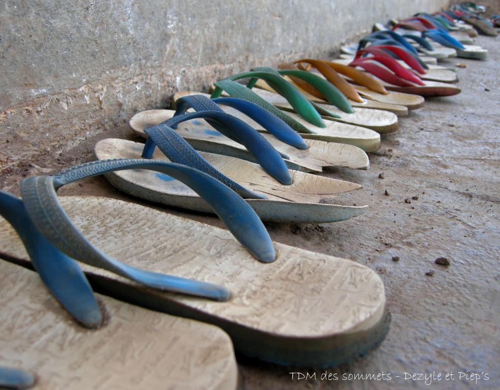 La sandale, un art de vivre ici !