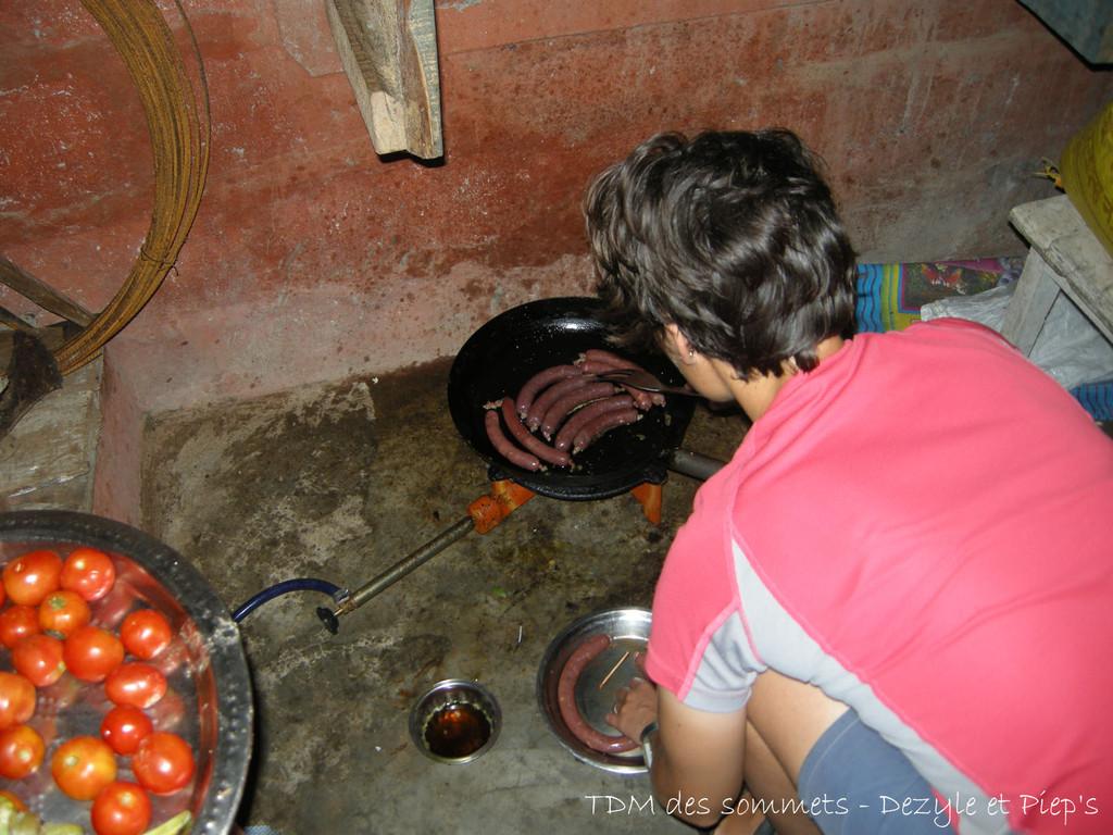 Saucisses à la cuisson