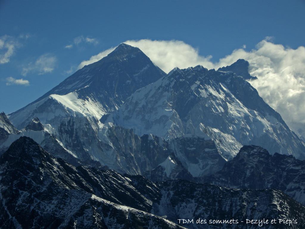 Everest depuis le Renjo Pass
