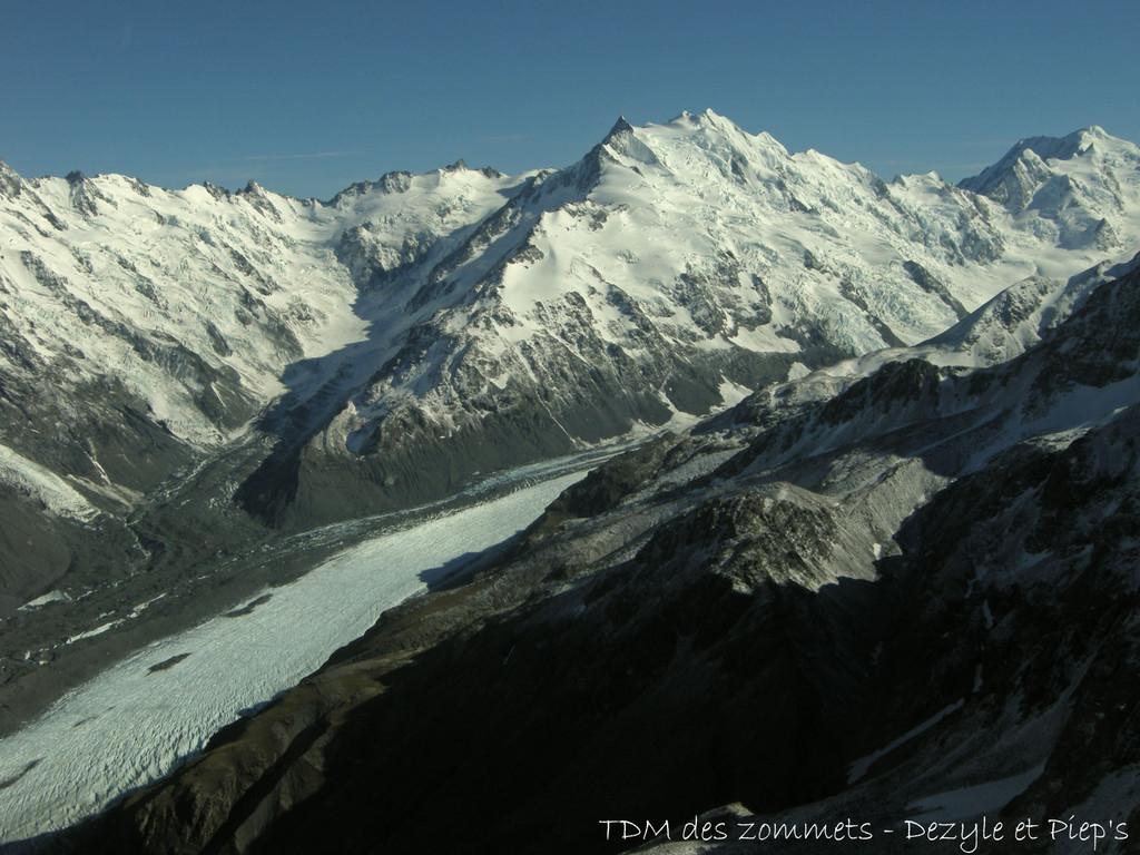 Glacier de Tasman