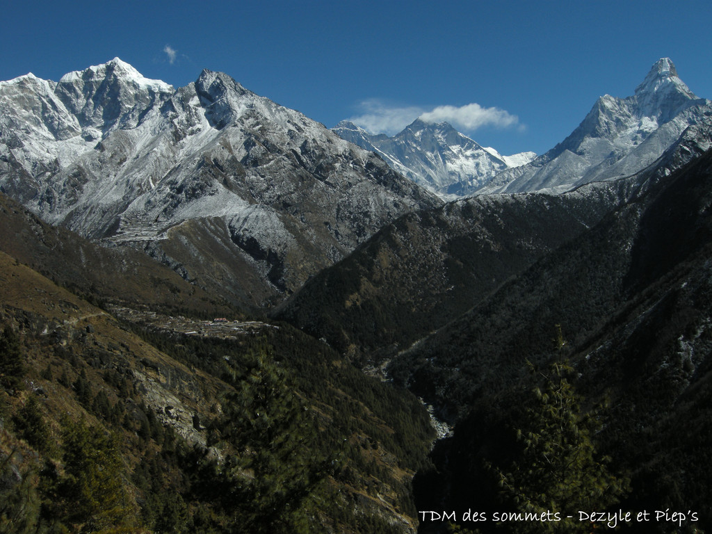 Au fond l'Everest