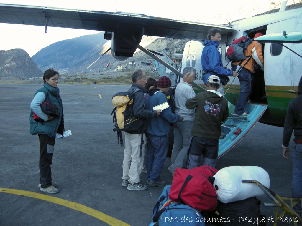 Retour vers Pokhara