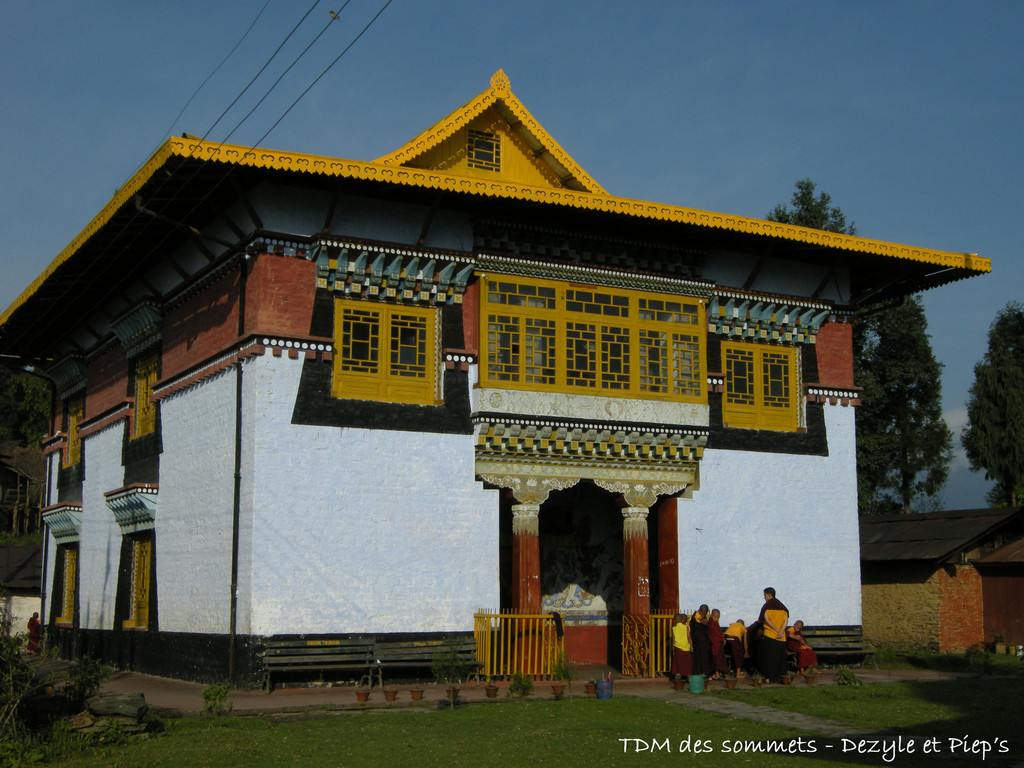 Monastere Sangachoeling, Pelling