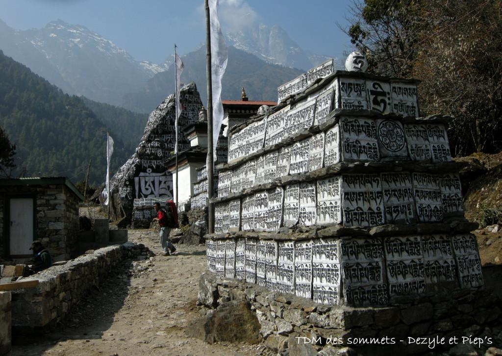 Mani wall à Chheplung