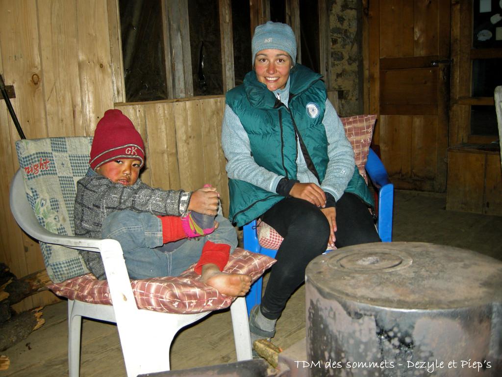 Le soir au coin du feu à Phoprang