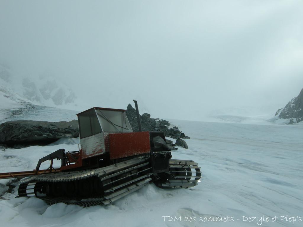 Sur le glacier de Tasman