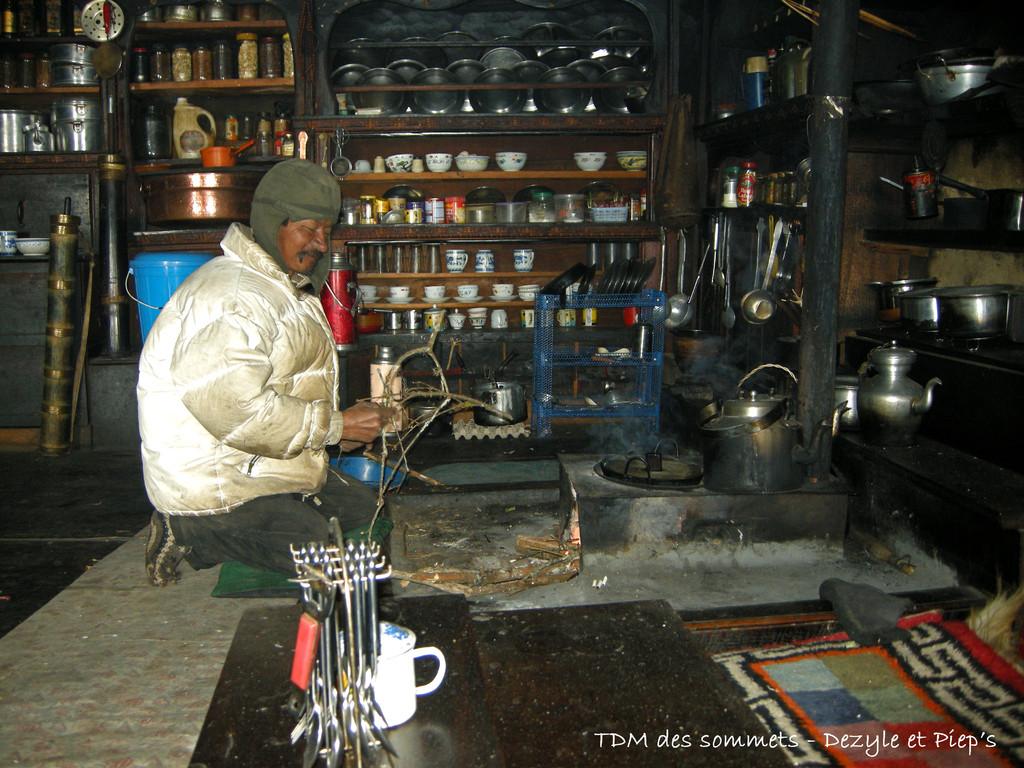 Phinjo, exilé tibétain