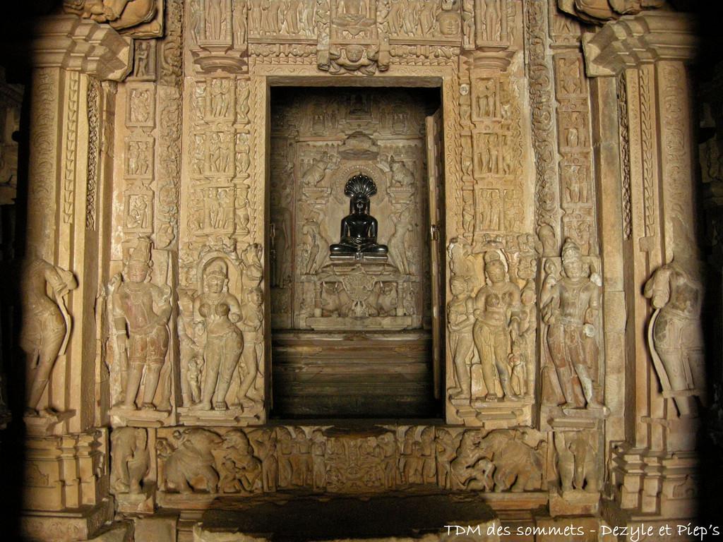 Interieur des temples