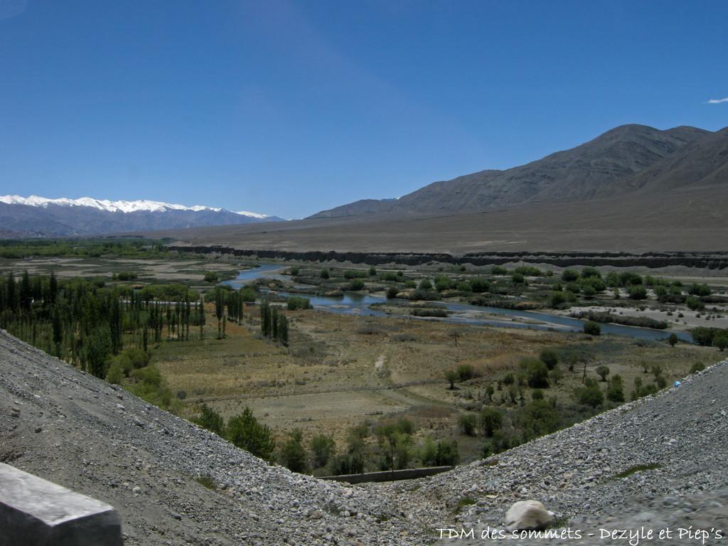 Sur la route de Leh - Ladakh