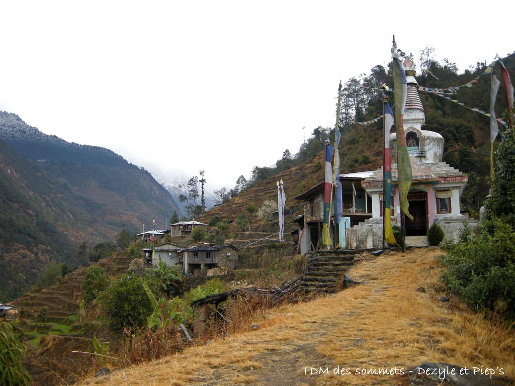 Dernier village avant Thimbu