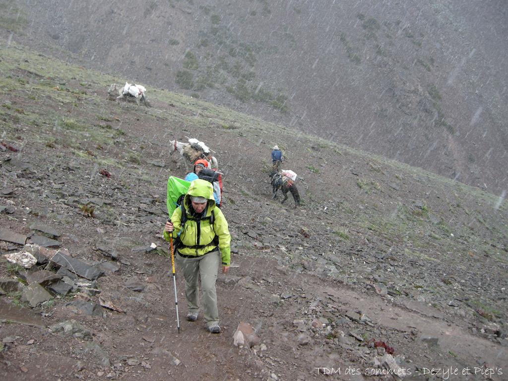 Montee au Kongmaru La