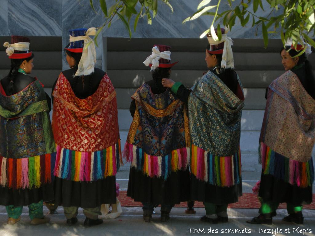 Habits traditionnels ladakhis