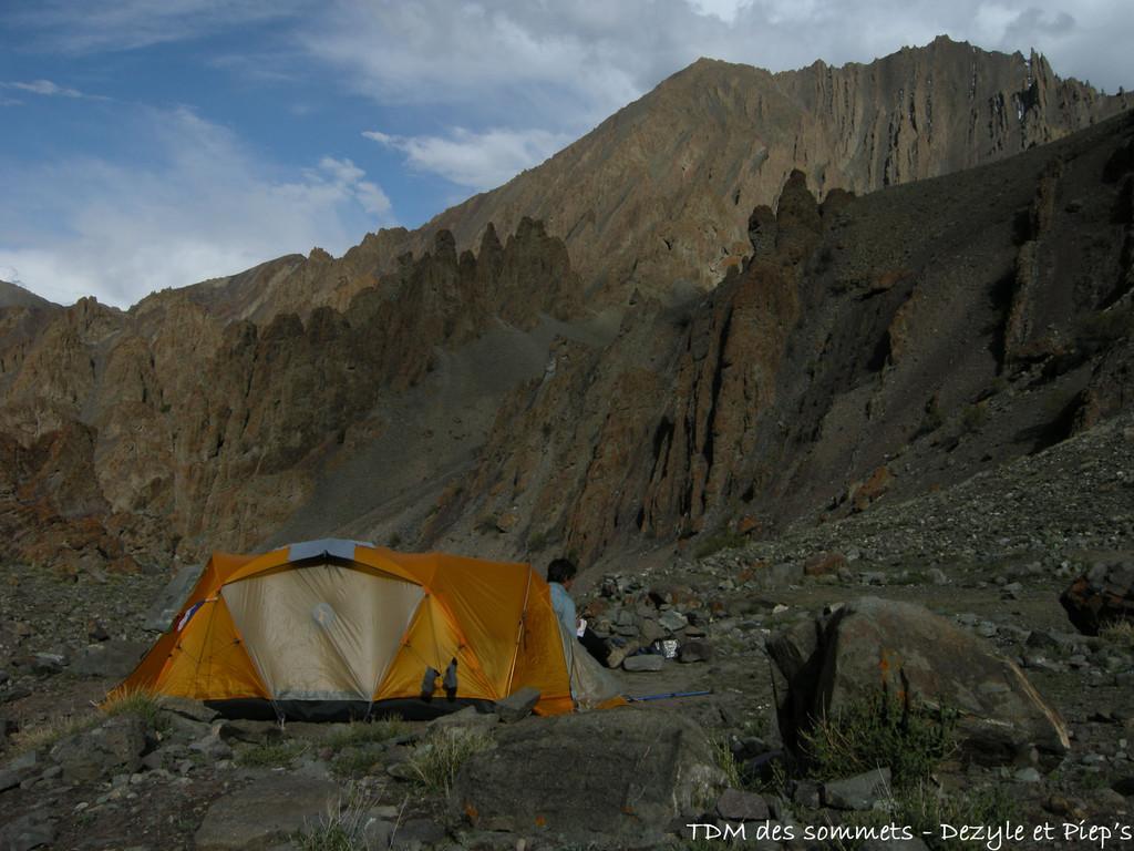 Camp au dessus de Changma