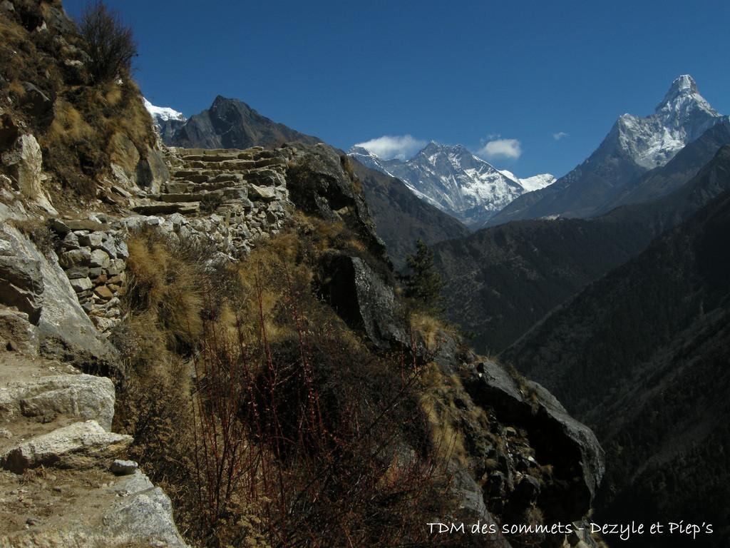 Dernière vue de l'Everest