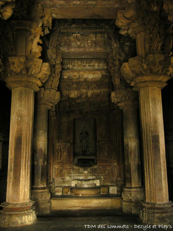 Interieur temples
