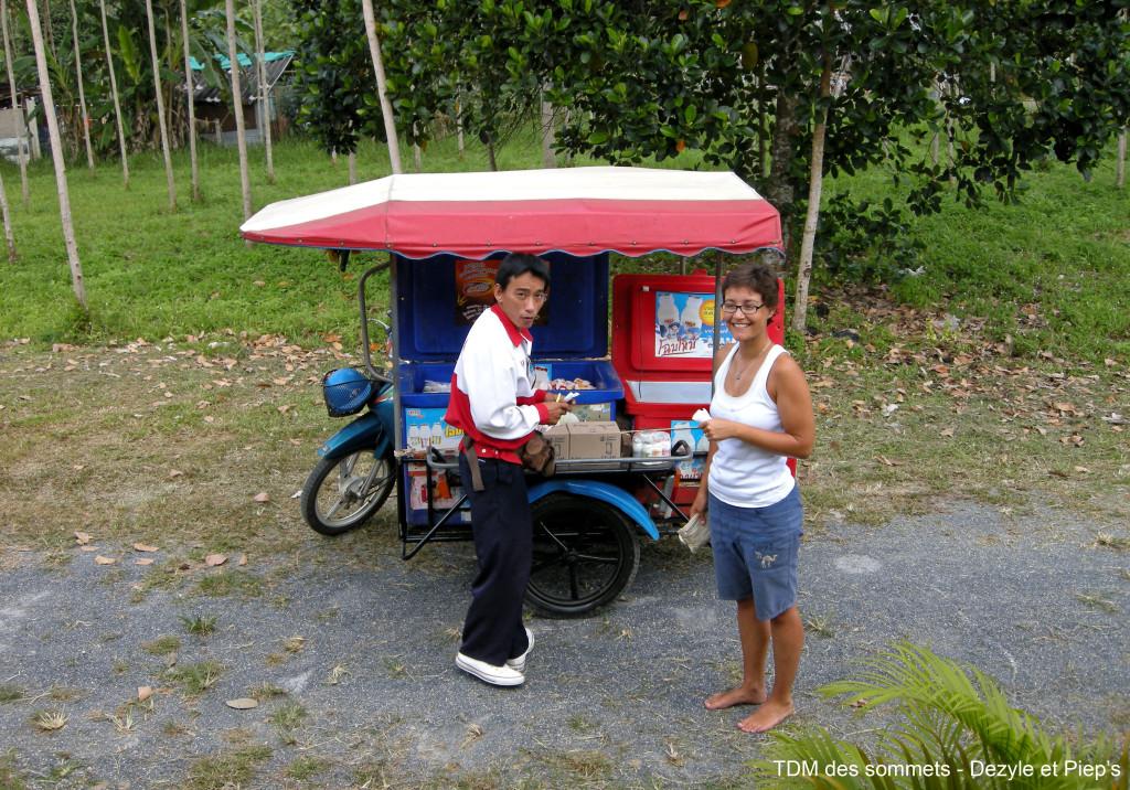 Vendeur de yaourts