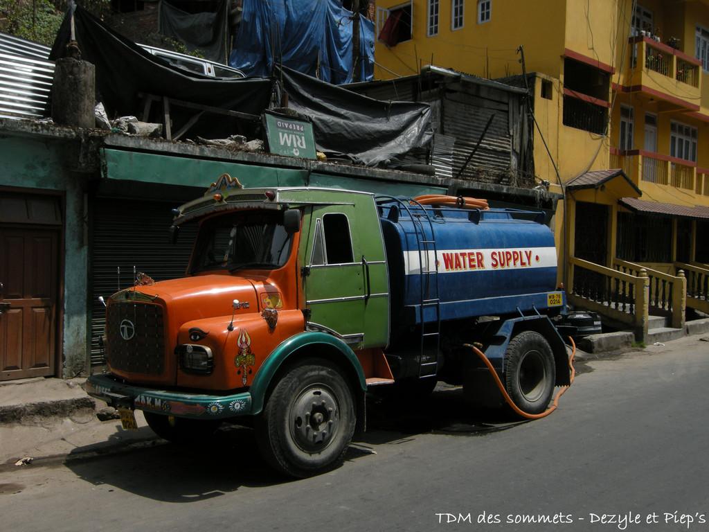Distributeur eau, Darjeeling