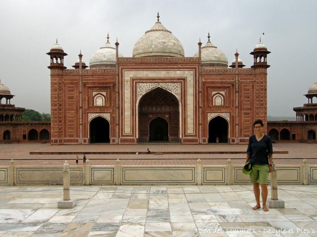 Mosque du Taj Mahal - Agra