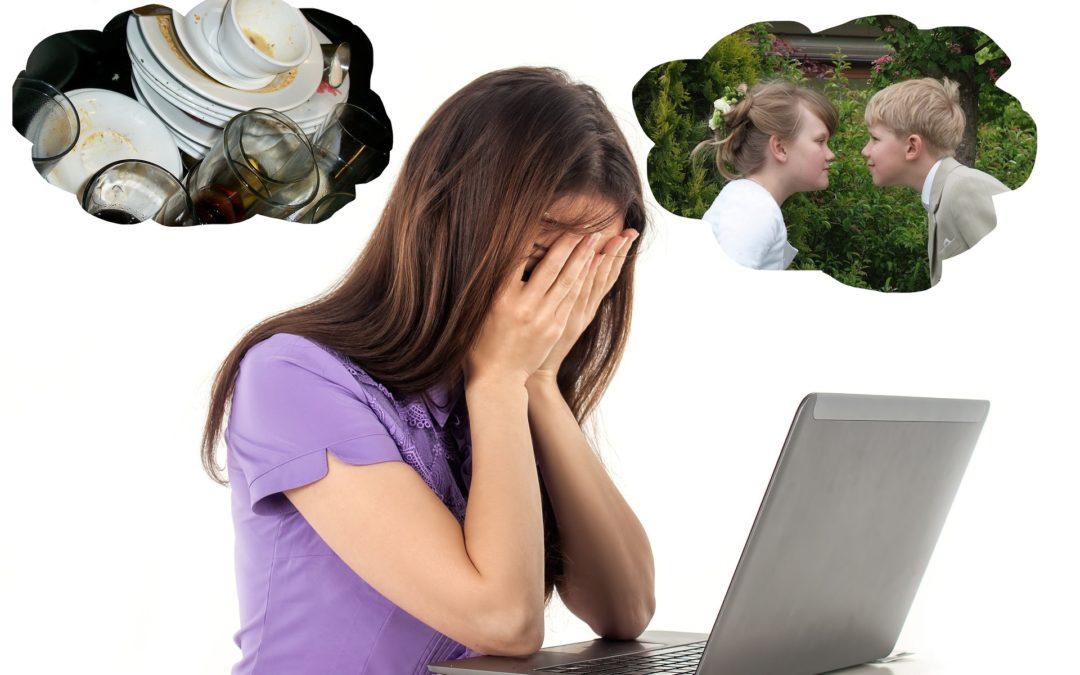 Les femmes à bout de souffle, épuisées par la charge mentale