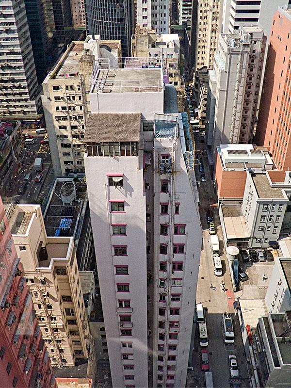 Häuserschlucht in Hong Kong. Foto: Klaus Schoerner