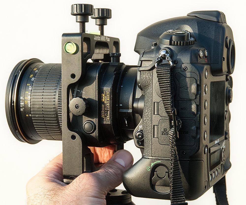 Jumbo MBS Plus Stativhalterung für die Nikon PC-E Objektive 24/45/85 mm