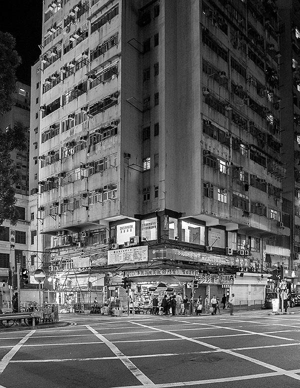 Strassenkreuzung im Zentrum von Hong Kong. Foto: Klaus Schoerner
