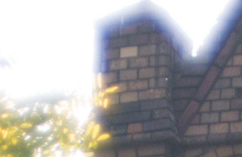 Praxistest Altglas an der Digitalkamera: Flare und CAs mit dem 2/85mm JUPITER-9. Foto: bonnescape.de