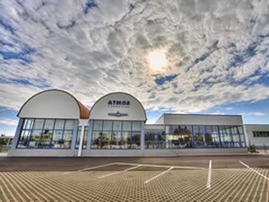 Atmos Zentrale Museum Ausstellungsraum