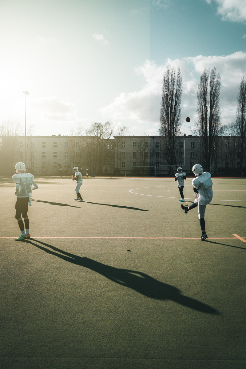 Berlin Bullets, B-Jugend-Camp, 2019
