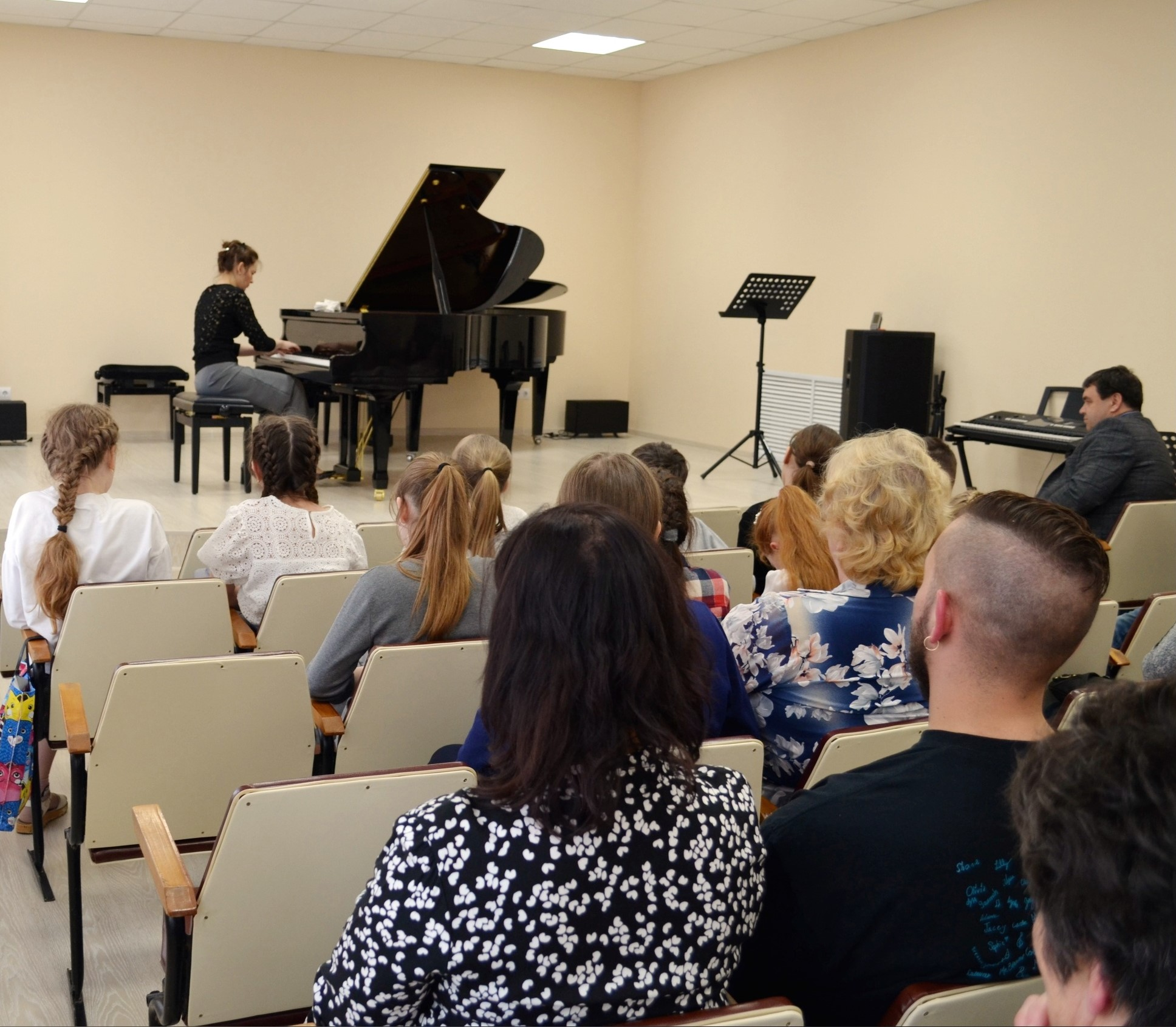 The concert at Liadov Arts&Music School
