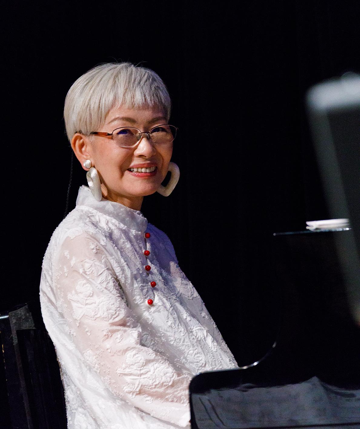 野田ユカ(piano)