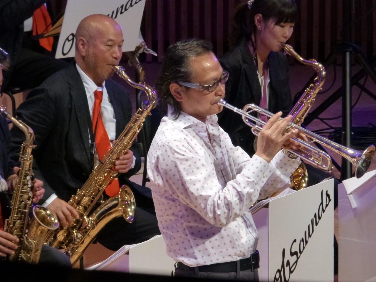 佐々木史郎さん。熱帯ジャズ楽団などでも活躍中♪